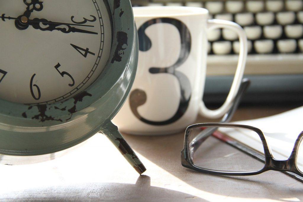 Time Work Clock Coffee Planning  - TaniaRose / Pixabay